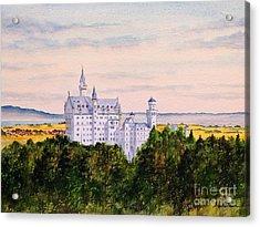 Neuschwanstein Castle Bavaria Germany Acrylic Print