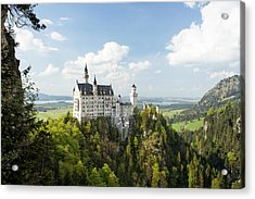 Neuschwanstein Castle Acrylic Print by Francesco Emanuele Carucci