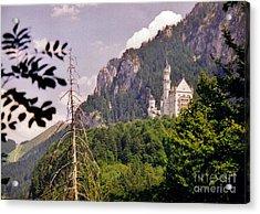 Neuschwanstein Castle Acrylic Print by Halifax Artist John Malone