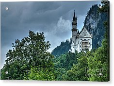 Acrylic Print featuring the photograph Neuschwanstein Castle by Joe  Ng