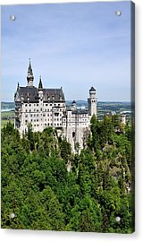 Acrylic Print featuring the photograph Neuschwanstein Castle by Rick Frost
