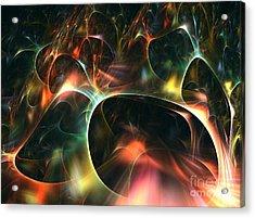 Neutrino Acrylic Print