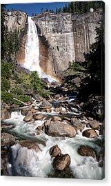Nevada Falls Yosemite Acrylic Print by Chris Frost