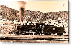 Nevada Northern Railway Acrylic Print by Robert Bales