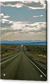 Nevada Road Acrylic Print by Joe Urbz
