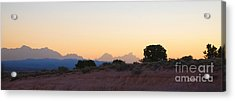 Nevada Sundown Acrylic Print