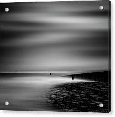 Never Ceasing Whisper Of The Sea Acrylic Print