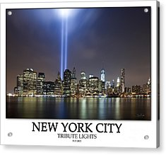 Never Forget  Acrylic Print by Shane Psaltis