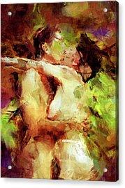 Never Let Me Go Acrylic Print by Kurt Van Wagner