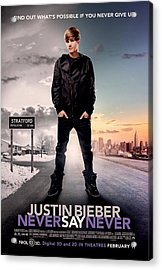 Never Say Never 1 Acrylic Print by Movie Poster Prints