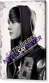 Never Say Never 2 Acrylic Print by Movie Poster Prints