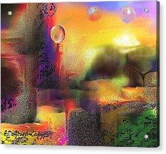 Neverland Acrylic Print by Francoise Dugourd-Caput