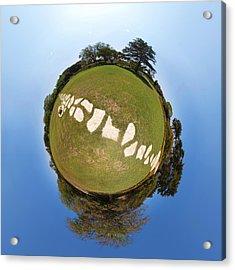 Acrylic Print featuring the photograph Neverland by Meir Ezrachi