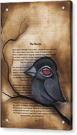Nevermore #1 Acrylic Print by Abril Andrade Griffith