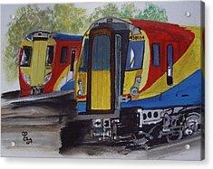 New 458/5 Juniper Acrylic Print by Carole Robins