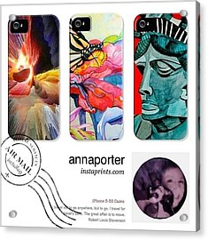 New Abstract Art Iphone 5-5s Cases Acrylic Print