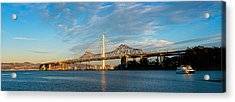 New And Old Eastern Span Acrylic Print by Panoramic Images