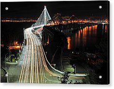 New Bay Bridge Acrylic Print