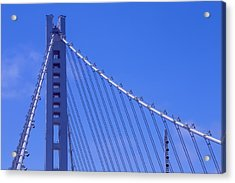 New Bay Bridge Tower Acrylic Print