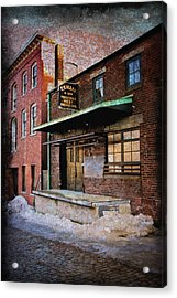 New Bedford Ma Acrylic Print