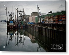 New Bedford Waterfront No. 4 Acrylic Print by David Gordon