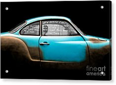 New Brake Lines New Calipers On Front New Rotors New Front Axle Beam Etc... Acrylic Print by Steven Digman