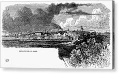 New Brunswick, 1876 Acrylic Print by Granger