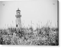 New Buffalo Lighthouse In Southwestern Michigan Acrylic Print by Paul Velgos