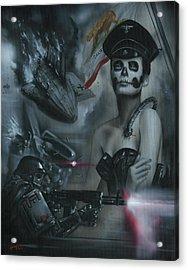 California Republic V1 Acrylic Print by Luis  Navarro