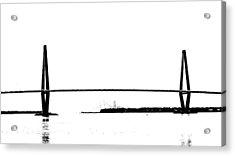 New Cooper River Bridge Acrylic Print by Philip Zion