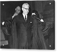 New Court Justice Goldberg Acrylic Print by Underwood Archives