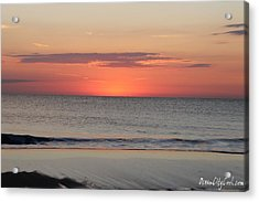 Acrylic Print featuring the photograph New Day Coming by Robert Banach