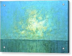 Acrylic Print featuring the painting New Day by Pam Talley