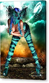 New Earth 3015 Acrylic Print