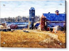 New England Farm 2 Acrylic Print