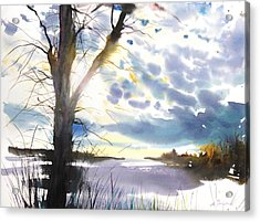 New England Landscape No. 218 Acrylic Print