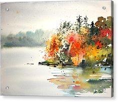 New England Landscape No.122 Acrylic Print by Sumiyo Toribe