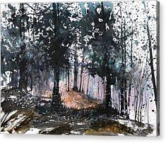 New England Landscape No.214 Acrylic Print by Sumiyo Toribe