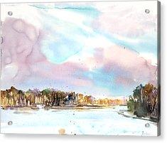 New England Landscape No.216 Acrylic Print by Sumiyo Toribe