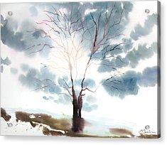 New England Landscape No.220 Acrylic Print by Sumiyo Toribe