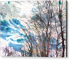 New England Landscape No.221 Acrylic Print by Sumiyo Toribe