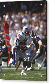 New England Patriots V Baltimore Ravens Acrylic Print by Focus On Sport