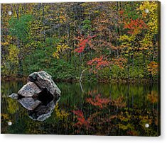New England Photography Acrylic Print by Juergen Roth