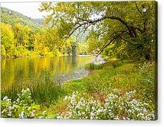 New Englands Early Autumn Acrylic Print