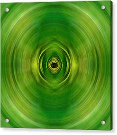 New Growth - Green Art By Sharon Cummings Acrylic Print