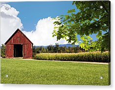 New Hampshire Barnyard Acrylic Print