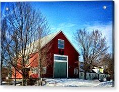 New Hampshire Farm Acrylic Print