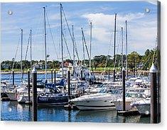 New Hampshire Marina Acrylic Print