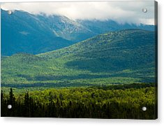 New Hampshire Mountainscape Acrylic Print