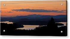 New Hampshire Sunset Acrylic Print